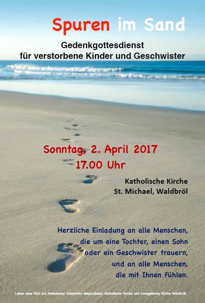 Gedenkgottesdienst 2017
